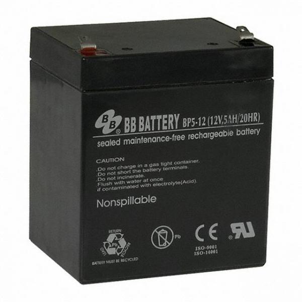 B B Battery BP5-12-T1