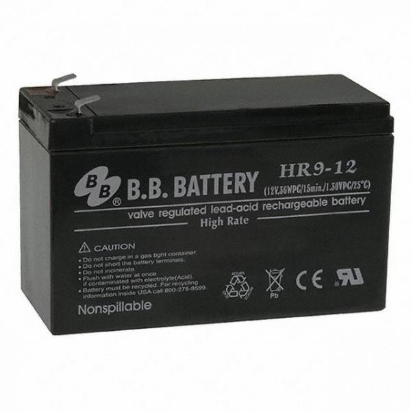 B B Battery HR9-12-T2