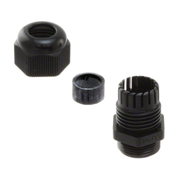 Essentra Components CG-PG16-1-BK