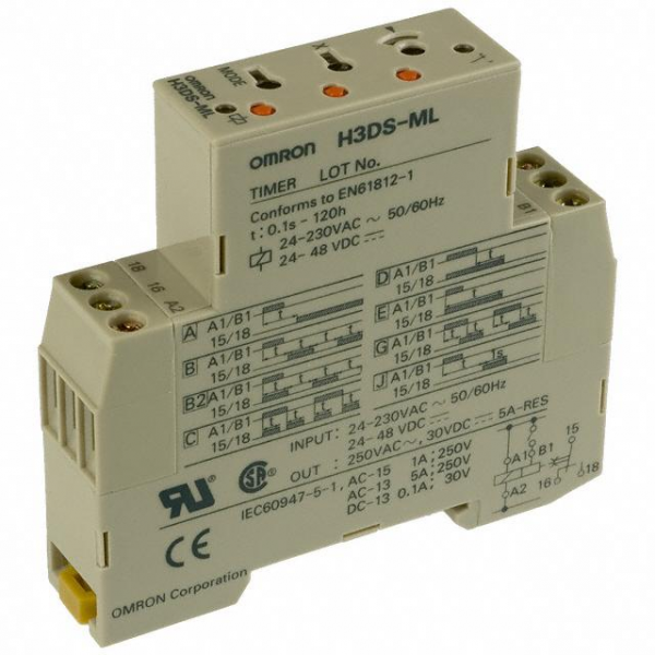 Omron Automation and Safety H3DS-ML AC24-230/DC24-48