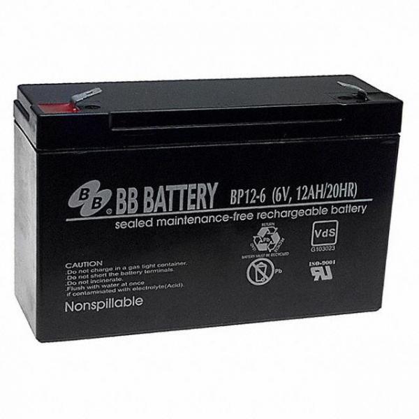 B B Battery BP12-6-T2