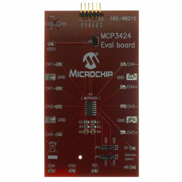 Microchip Technology MCP3424EV